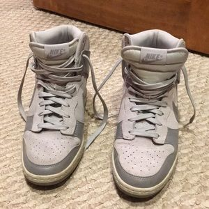 EUC CUTE Hidden Wedge Nikes ❤️